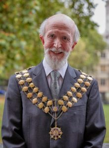Professor David C Wilson following his inauguration in Westminster as 2017-18 CIWM President