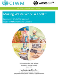 DCW's CIWM Presidential Report 2017 prepared by WasteAid UK