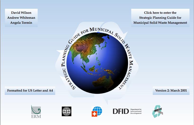 World Bank: Strategic Planning Guide for Municipal Solid Waste Management